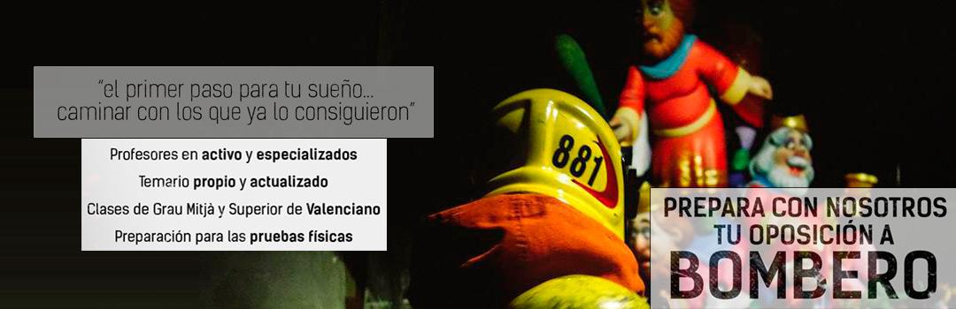 Preparar oposiciones de bombero en Gandia y Valencia